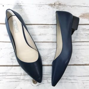 COLE HAAN • leather pointed toe flats